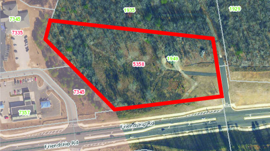4.76 Acres of Potential Commercial Land